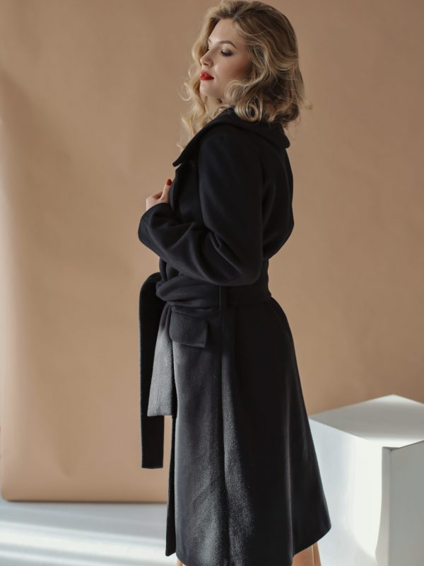 Coat Jess black (2)