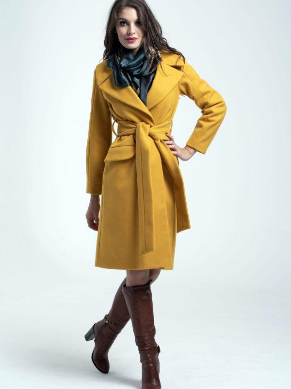 Coat Jess sárga (1)