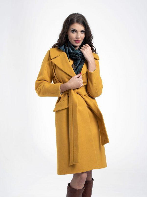 Coat Jess sárga (2)