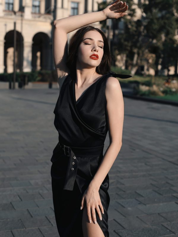 Dress Ava black (4)