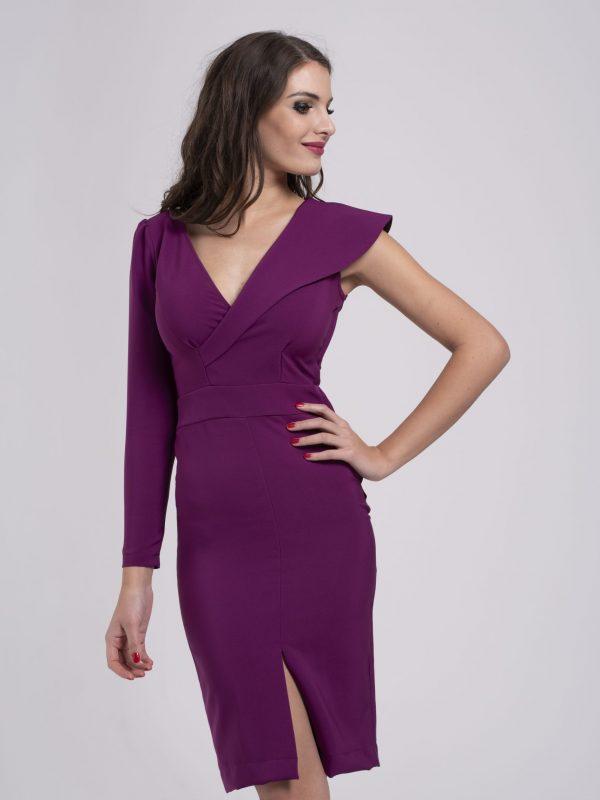 Dress Clara fuxia (2)