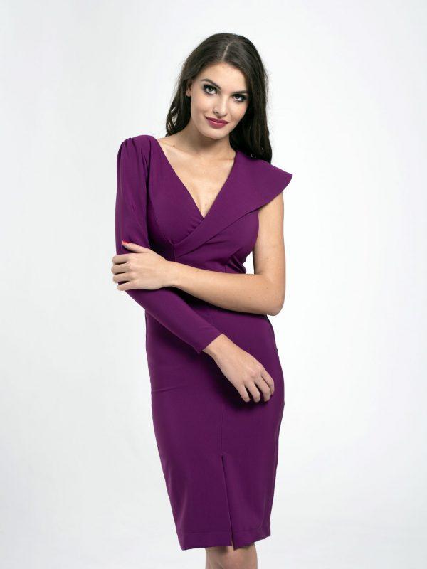 Dress Clara fuxia (3)