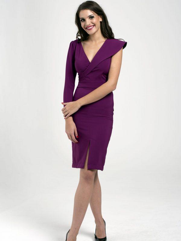 Dress Clara fuxia (4)