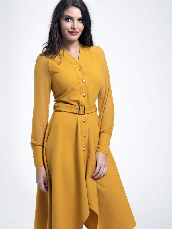 Dress Coco sárga (2)