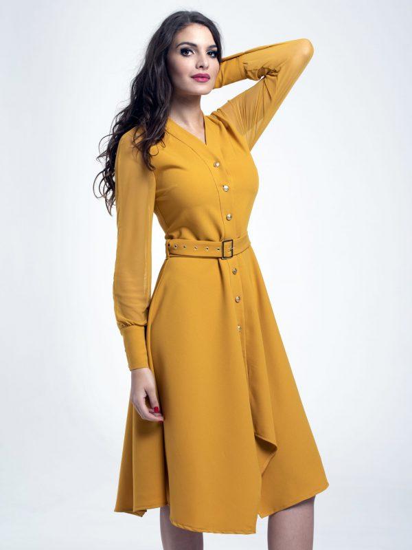 Dress Coco sárga (3)
