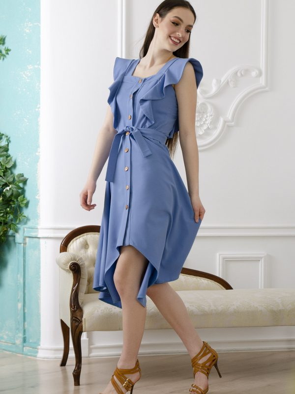 Dress Erica blue (3)