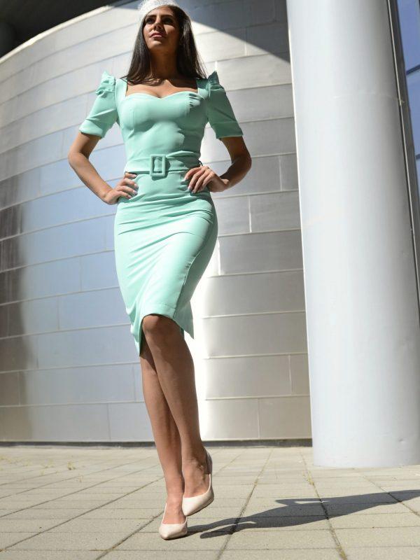 Dress Gene menta (20)