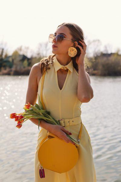 Dress Gerda yellow (1)