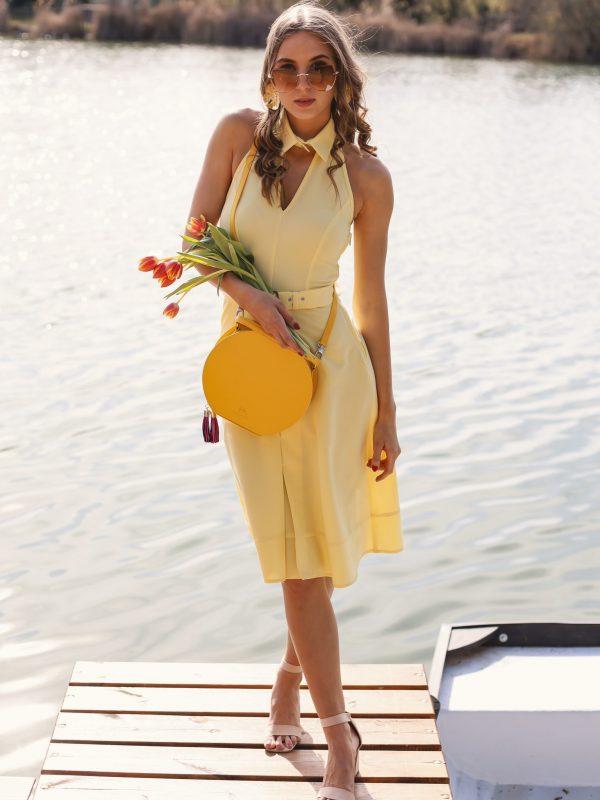 Dress Gerda yellow (2)