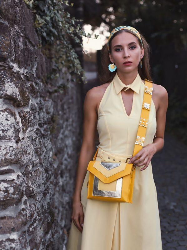 Dress Gerda yellow (3)