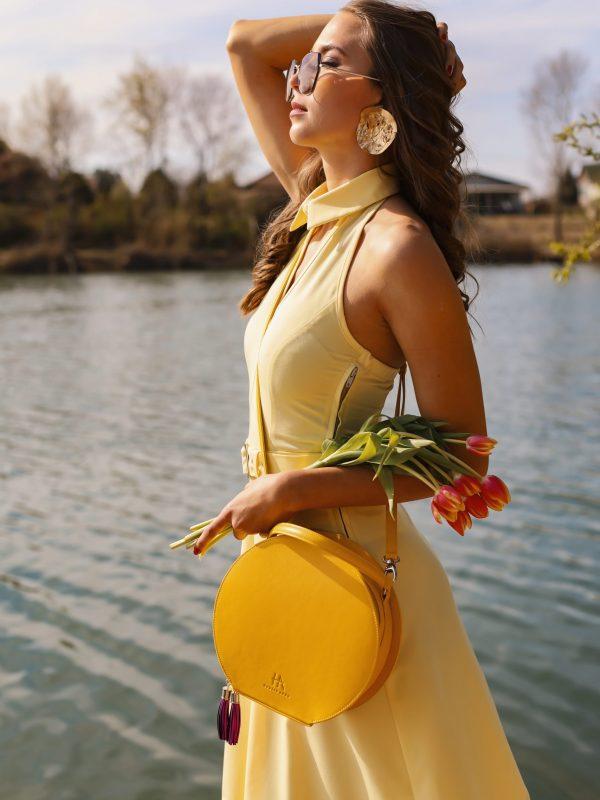 Dress Gerda yellow (5)