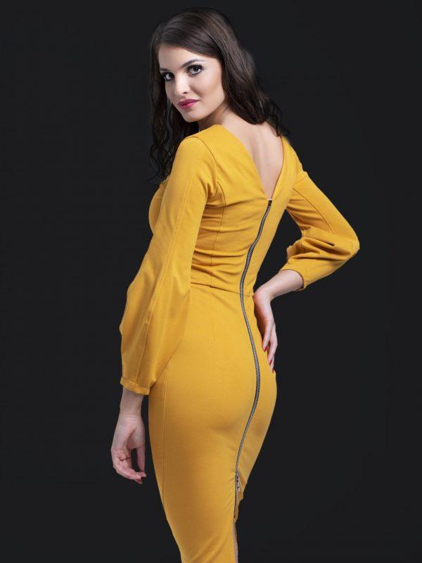 Dress Gina sárga (1)