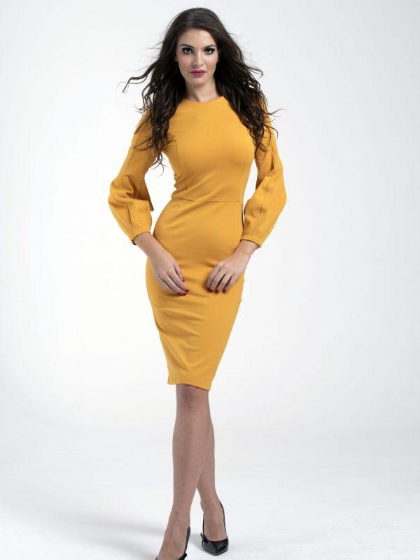 Dress Gina sárga (2)