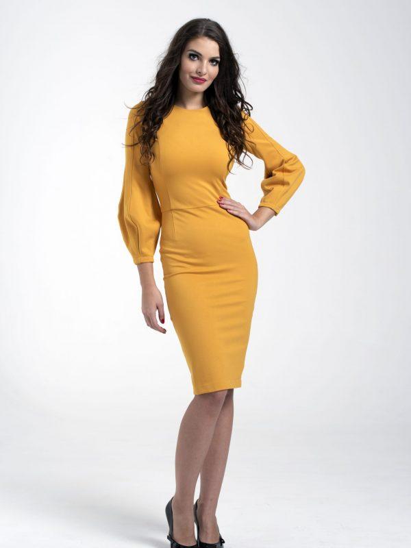 Dress Gina sárga (3)