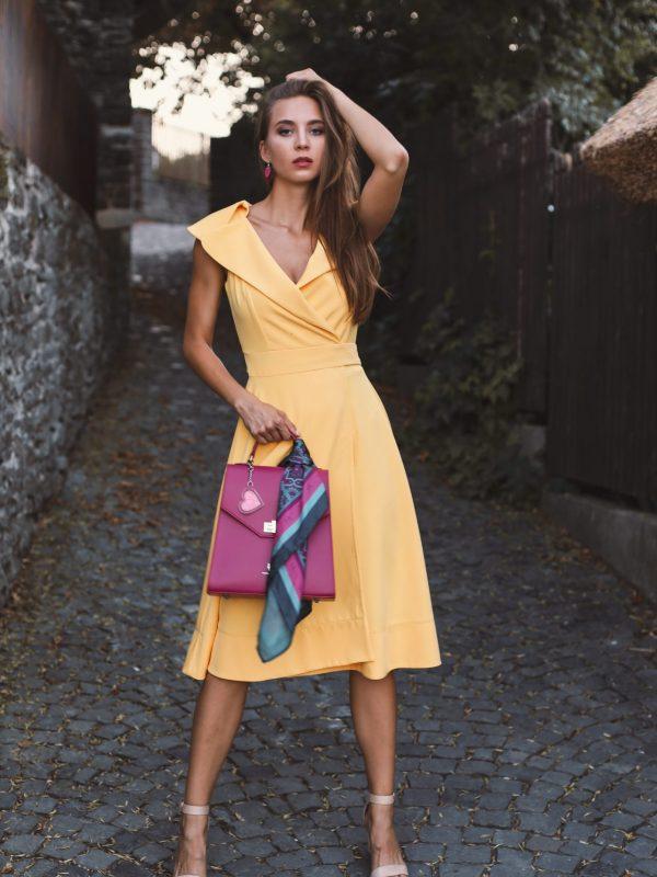 Dress Gloria Yellow (1)