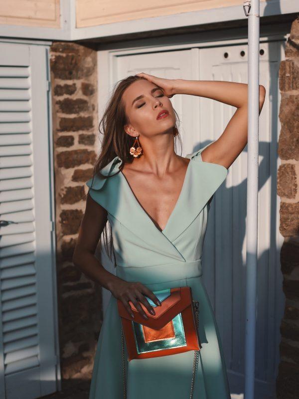 Dress Gloria mint (1)