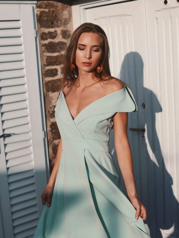 Dress Gloria mint (5)