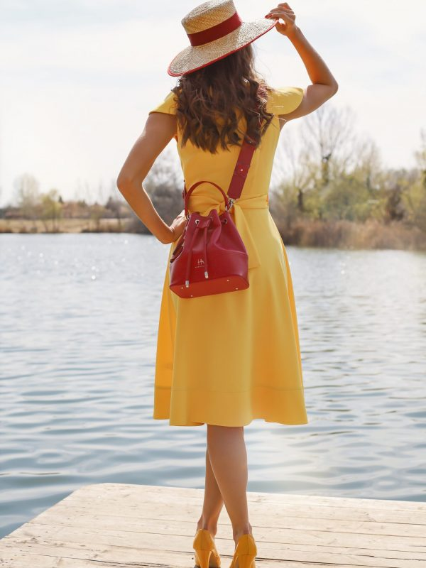 Dress Gloria yellow (4)