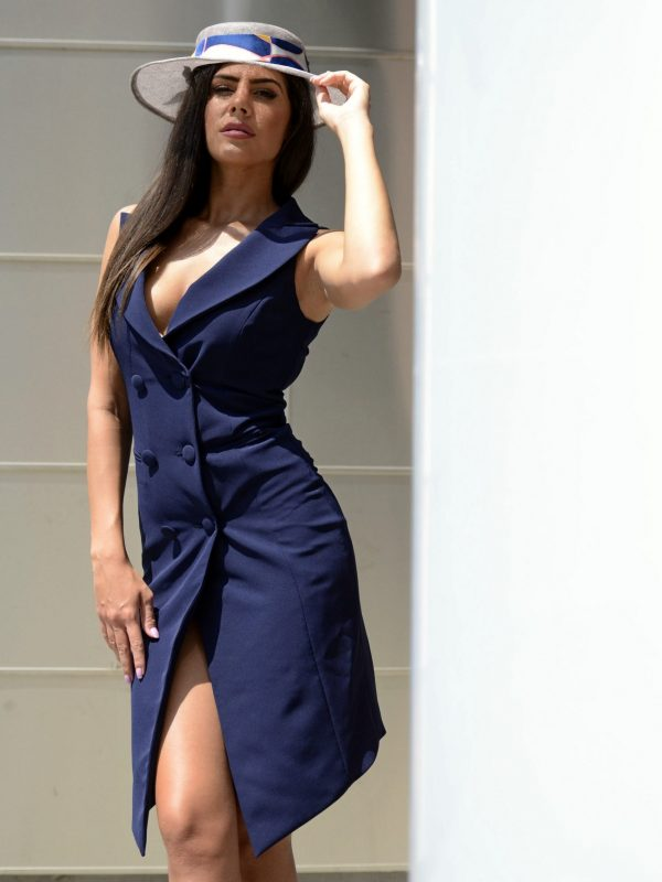 Dress Kathrine navy (5)