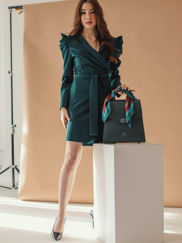 Dress Lana green (1)