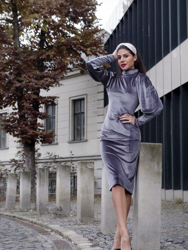 Dress Lauren Grey (3)