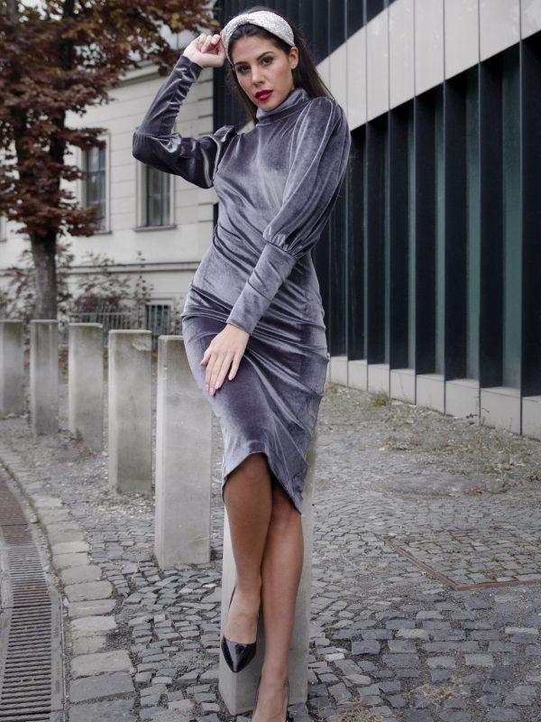 Dress Lauren Grey (5)