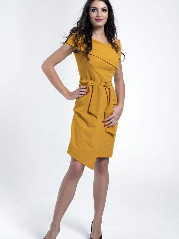Dress Lola sárga (1)