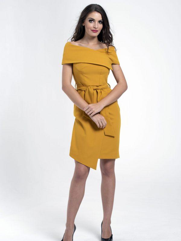Dress Lola sárga (2)