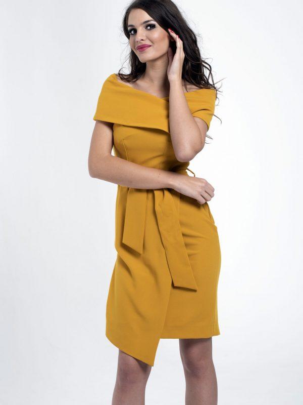 Dress Lola sárga (3)