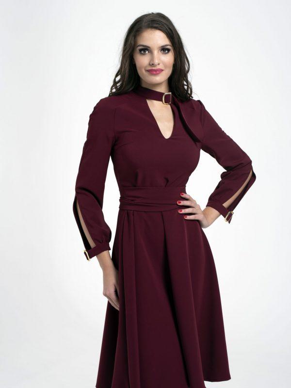 Dress Tekla bordó (1)