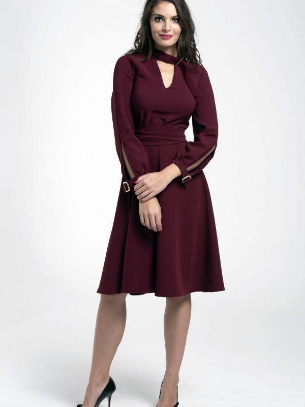 Dress Tekla bordó (3)