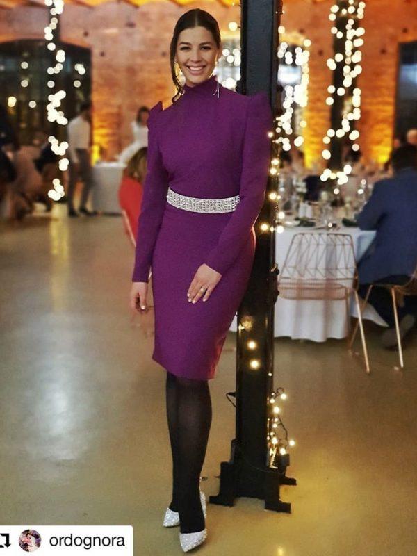 Ördög Nóra AW19-20 Dress Tina (2)