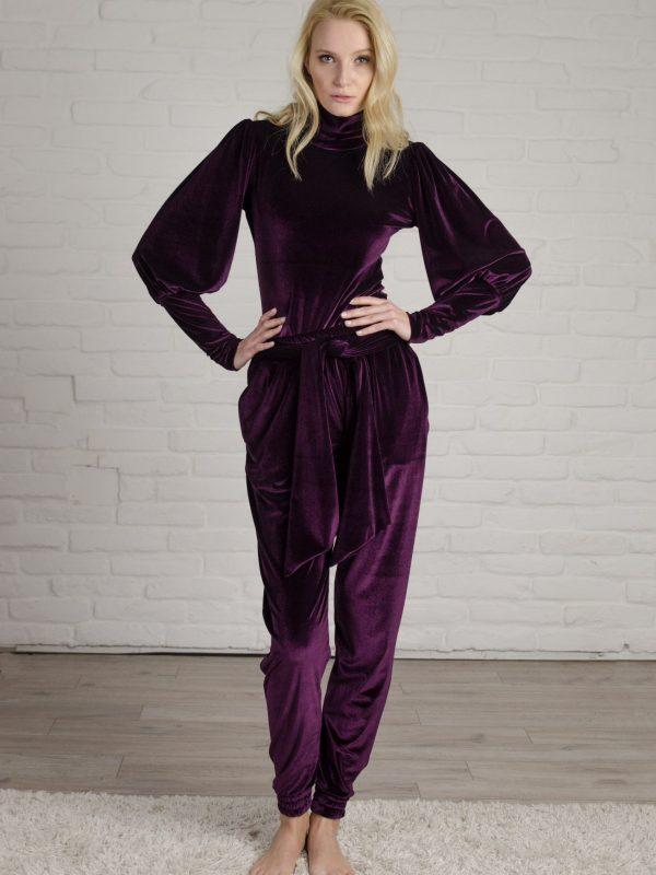 Set Lauren purple (4)