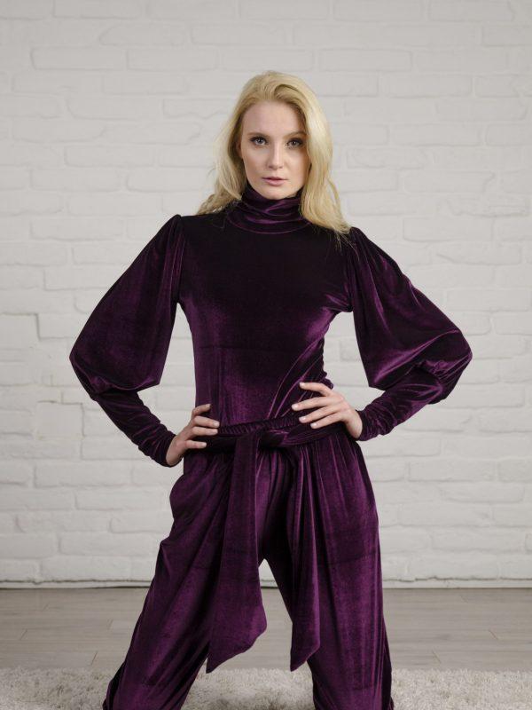 Set Lauren purple (6)
